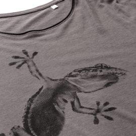T-shirt Gecko winter-white - Fashion Nature, l'esclusiva maglietta Gecko