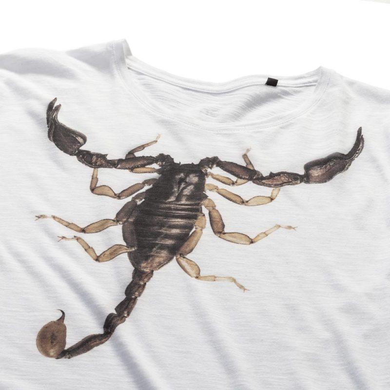 T-Shirt Scorpion white-5