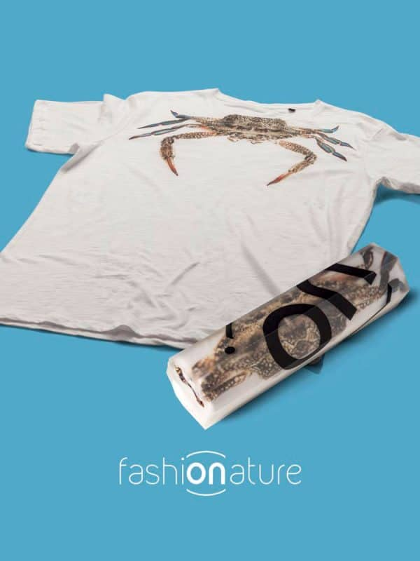 T-Shirt Crab white