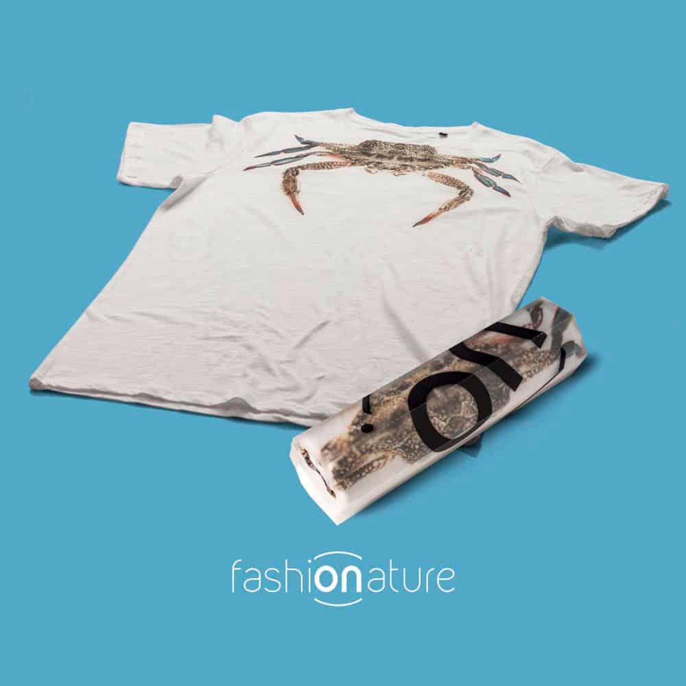 T-Shirt Crab white