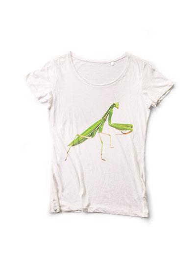 Women's Mantis White T-Shirt