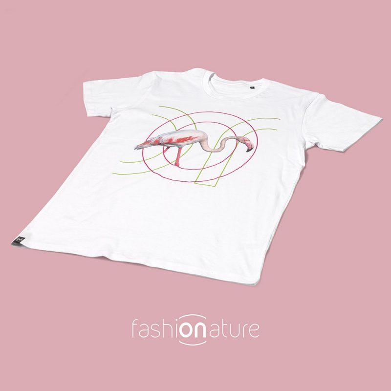 Ricostruiamo_la_casa_dei_Fenicotteri_ON-Men's_T-Shirt_Flamingo_10