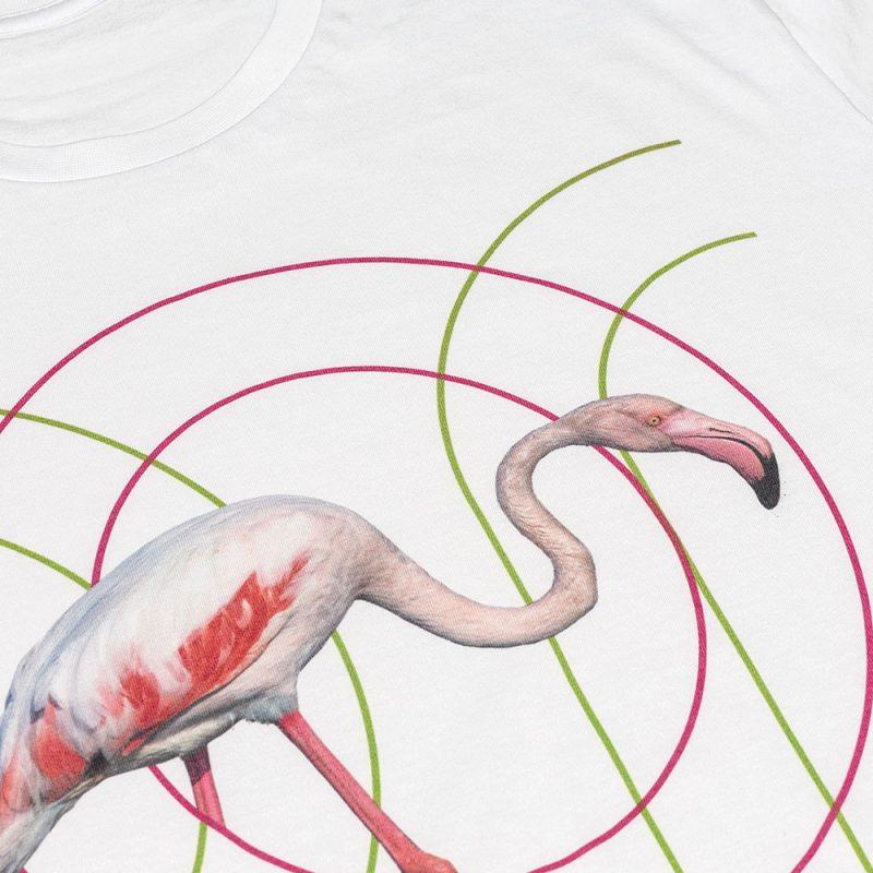 Ricostruiamo_la_casa_dei_Fenicotteri_ON-Men's_T-Shirt_Flamingo_8