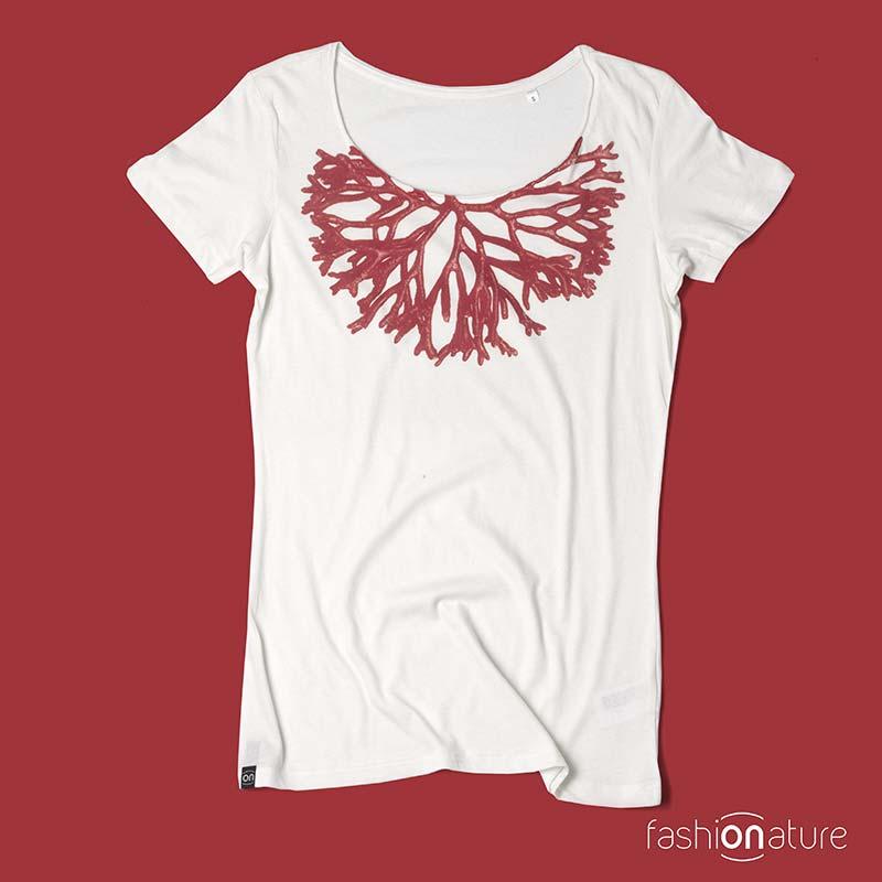 Women's Corallo White T-Shirt