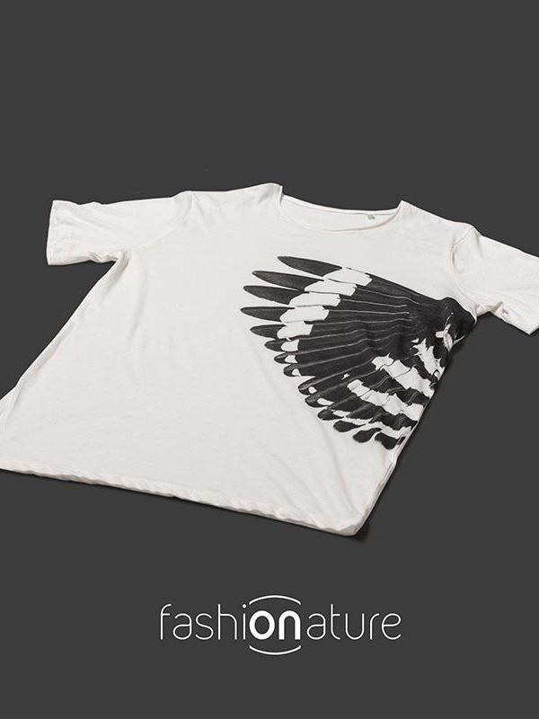 Men's Hoopoe White T-Shirt - Upupa